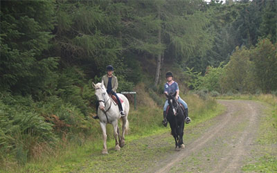 Scottish Borders horse riding