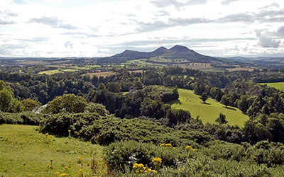Scottish Borders walking